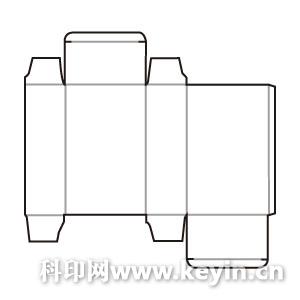 纸盒结构展开图设备操作